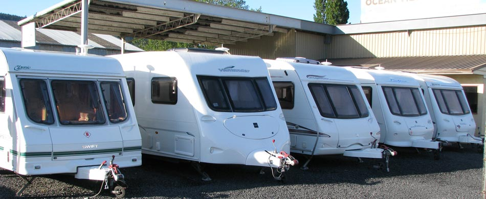 New and used caravans in Mosgiel, Dunedin